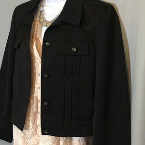 Vertigo Paris Size Medium Black Jacket